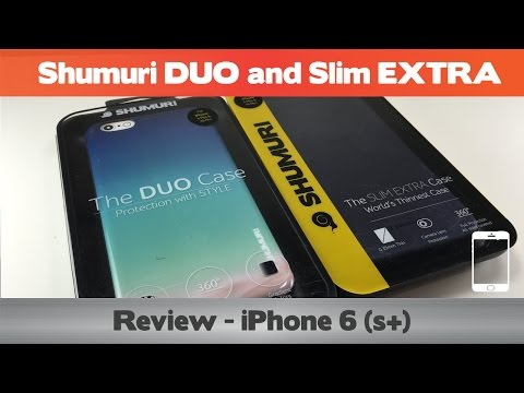 best authentic b8530 44100 Shumuri DUO and Slim EXTRA Review - iPhone 6(s+) cases - YouTube