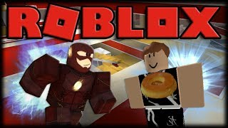 TURNING a superhero ⚡-Roblox Super Hero Tycoon-Part 1