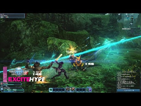 Phantasy Star Online 2 (PC, PS4, PS Vita) – PS4 Closed Beta Test Gameplay
