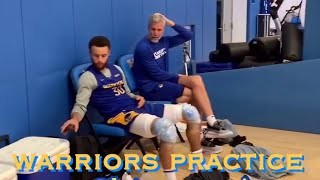 [HD] Steph Curry, Draymond, John Wooden's fabled Pyramid of Success +MORE VIEWS @ Warriors Practice