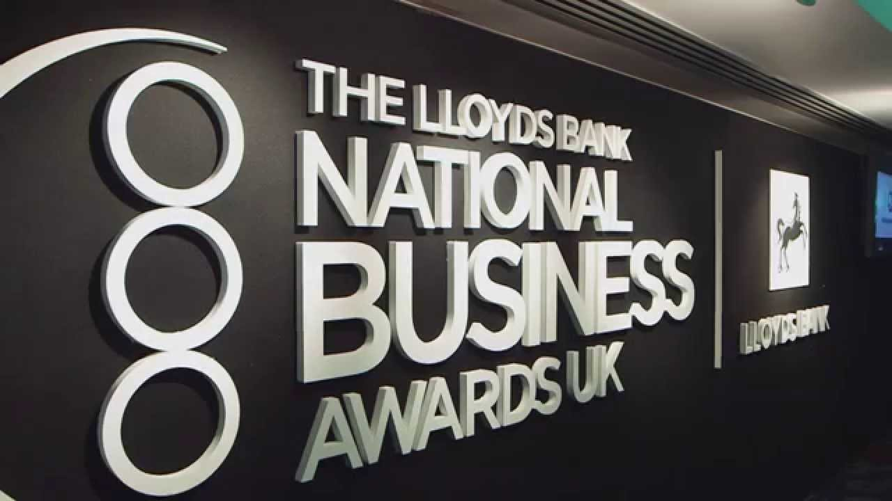 National Business Awards Winner Best Small to Medium Sized Business 2015