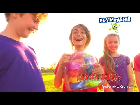 PlayMonster Ultra Dash Action Game! | Gabe And Garrett