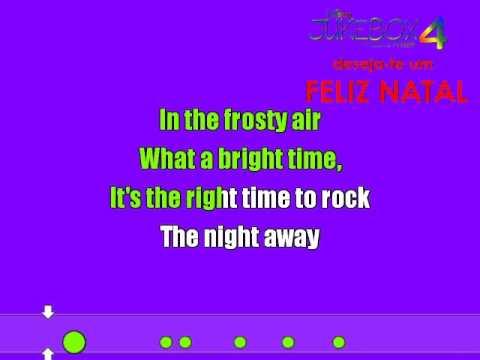 McClain Sisters - Jingle Bell Rock ( Sing-Along )