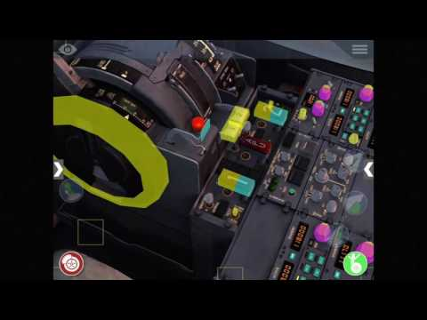 X-Plane Mobile 10.4 Manipulator & Quicklook demo in 737-800
