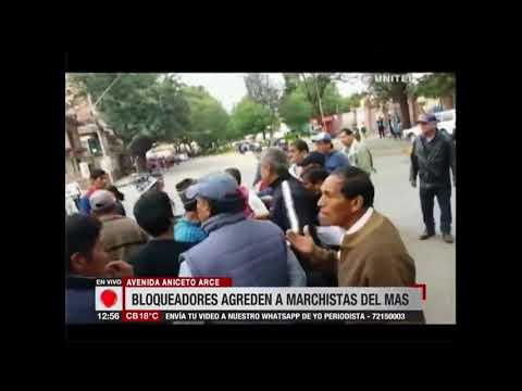 Imágenes muestran a trabajadores en salud agredir a cocaleros en Cochabamba
