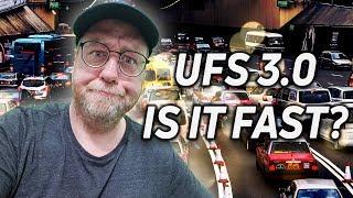 UFS 3.0 - It isn't as FAST as YOU think it is