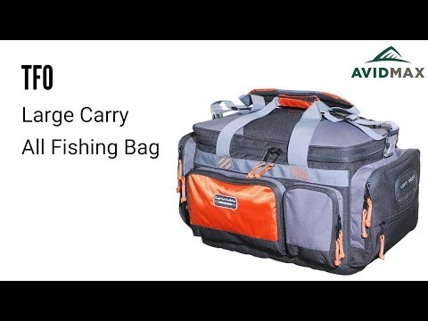 TFO Large Carry All Fishing Bag Review | AvidMax