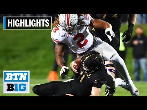 Highlights: Fields Tosses 4 TDs in Win vs. Wildcats | Ohio State at Northwestern | Oct. 18, 2019