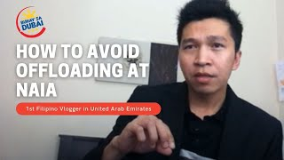HOW TO AVOID OFFLOADING AT NAIA