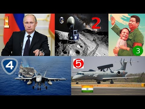 TOP 5 DEFENCE NEWS|CHINA WARN INDIAN NAVY|DRDO Netra|Chandrayaan-2|Russia Danger Nuclear Missiles