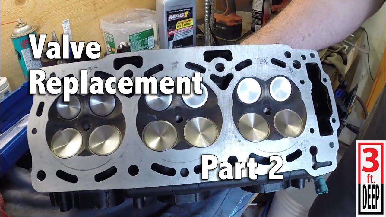 how to sea doo 4 tec engine valve replacement part 2 of 2 youtube rh youtube com TEC- 9 Columbine From 2014 Renegade X 800 E Tec