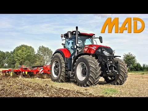 CASE-IH Optum CVX, the new tractor range for Case-IH