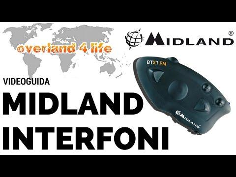 MIDLAND interfoni, caratteristiche e collegamenti