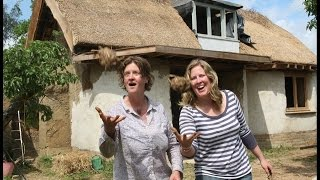 How To Build Your Mud  Cob  Dream House Cheap To Last 10,000 Years. England.