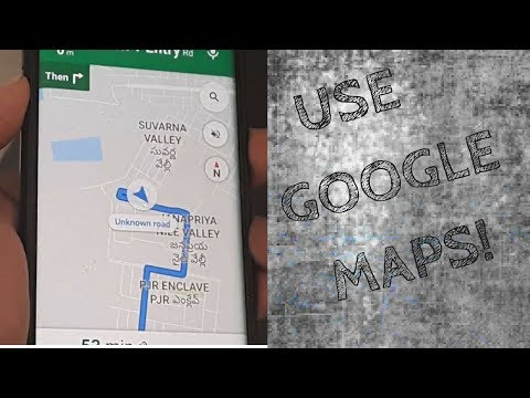 HOW TO USE GOOGLE MAPS TO REACH YOUR DESTINATION| NAVIGATION USING GOOGLE MAPS