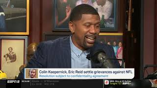 Jalen Rose STRONG REACT