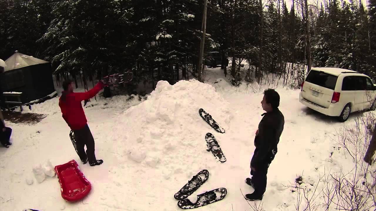 Winter Camping Teaser - YouTube