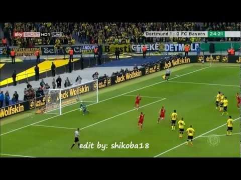 DFB Pokal final 2012 Borussia Dortmund vs FC Bayern Munich 5-2 All goals HD !!.wmv
