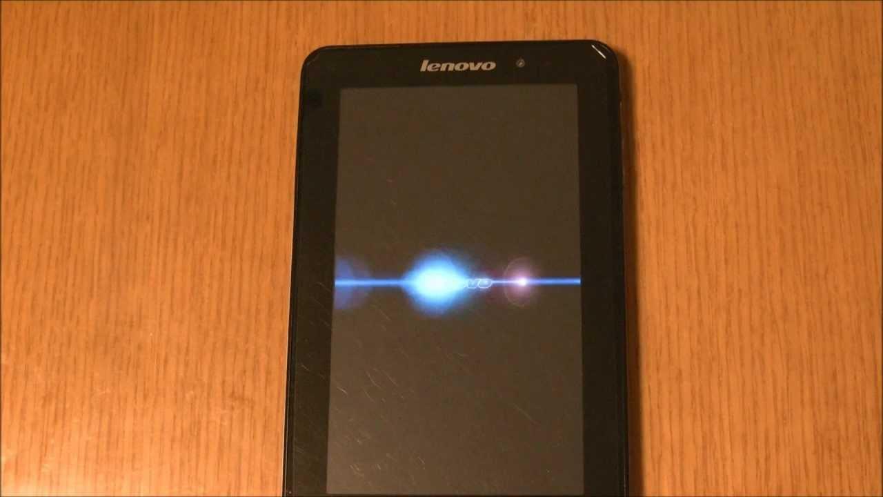 Lenovo IdeaPad Tablet A1(16GB) wipe data(factory reset