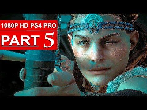 HORIZON ZERO DAWN Gameplay Walkthrough Part 5 [1080p HD PS4 PRO] - No Commentary