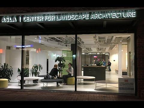 ASLA Center For Landscape Architecture Opening Ceremony
