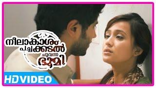 Neelakasham Pachakadal Chuvanna Bhoomi Movie | Scenes | Dulquer proposes Surja Bala