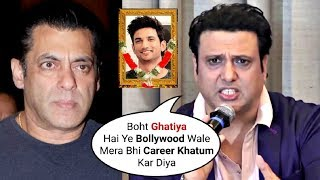 Govinda Spills ANGERR On Bollywood For How He Was Thrown Out Just Like Sushant Singh Rajput!