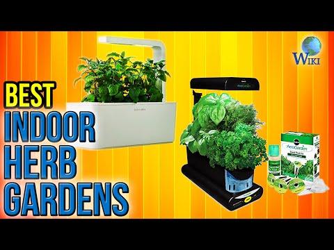 7 Best Indoor Herb Gardens 2017