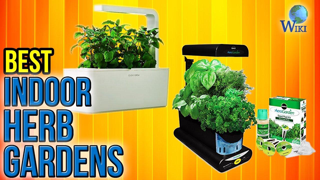 7 Best Indoor Herb Gardens 2017 - YouTube