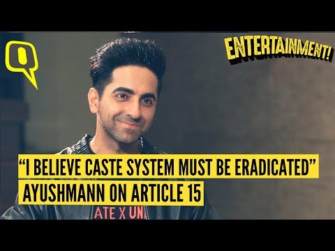 Ayushmann Khurrana on Why Article 15 Is an Important Film for Indian Cinema | The Quint Mp3