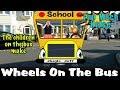 Wheels on the Bus Nursery Rhyme   Jingle Jeff's Funny Wheels On The Bus