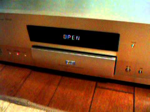 Pioneer DV-S9 Tray Opne Movie