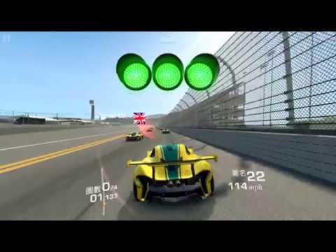 Real Racing 3 McLAREN ( Four Laps)