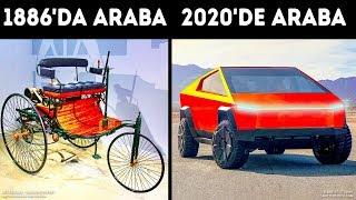 Arabalar Geçtiğimiz 100 Yıl İçinde Nasıl Değiştiler