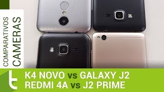 LG K4 Novo, Galaxy J2, J2 Prime e Redmi 4A   Comparativo de câmeras do TudoCelular