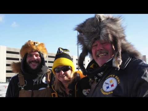 Steelers fans tailgate at Heinz Field ahead of AFC Wild Card