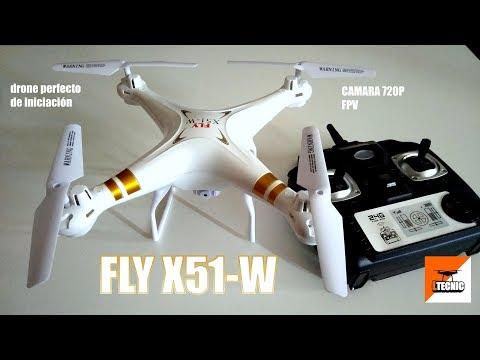 FLY X51W, IMPRESIONANTE PARA APRENDER A VOLAR DRONES Ltecnic