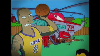 Kobe Bryant's death predicted by The Simpsons