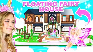 BECOMING A FAIRY IN THIS *NEW* FLOATING FAIRY HOUSE IN ADOPT ME! (ROBLOX)