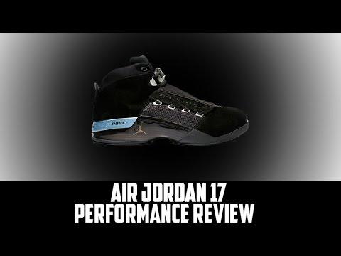 reputable site 60f75 307cb Air Jordan Project - Air Jordan XVII (17) Retro Performance Review