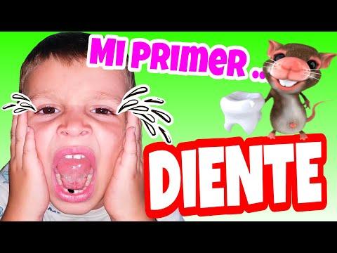Vlog. A ARES SE LE CAE UN DIENTE y viene el ratoncito Perez con regalos
