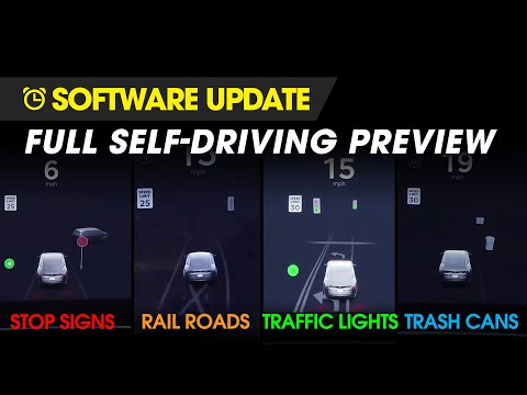 Tesla Full Self-Driving Preview - First Drive!
