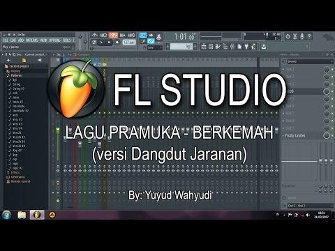 Lagu Pramuka - Berkemah versi Dangdut (FL Studio)
