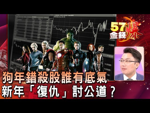 狗年錯殺股誰有底氣 新年「復仇」討公道?- 老王《57金錢爆精選》2019.0115
