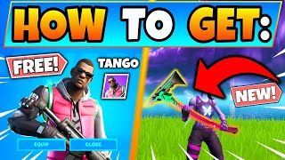HOW TO GET TANGO SKIN *FREE* in Fortnite! How to Get Free Skins in Battle Royale!