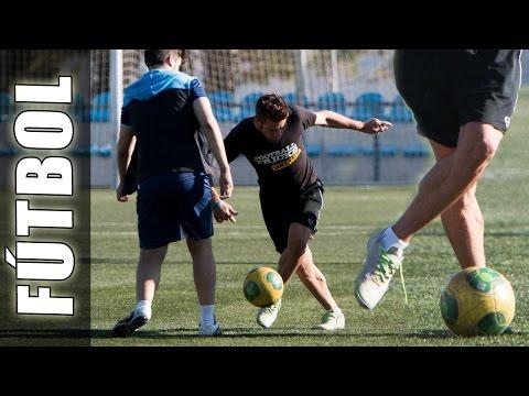 Neymar Rabona Skills con expulsión - Trucos de futbol, técnicas y habilidades
