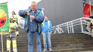 Politisk streik Jernbaneforbundet og Lokomotivmannsforbundet 15.juni 2015
