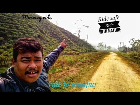 Tea garden Rubber plantation Assam// Ride safe Ride with nature// Abhijit Bora