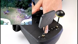 LS 800D FPV Budget Diversity goggles Built in DVR & battery, modify and test review