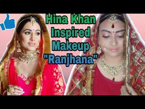 💥Hina Khan From #RaanjhanaSong Inspired Makeup Look💥 - Hina Khan Bridal Look Under Rs500 - - 동영상